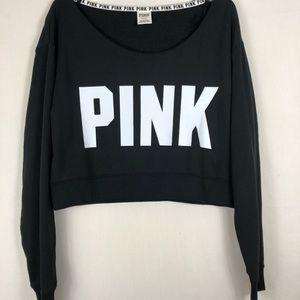 VS PINK cropped sweatshirt NWOT
